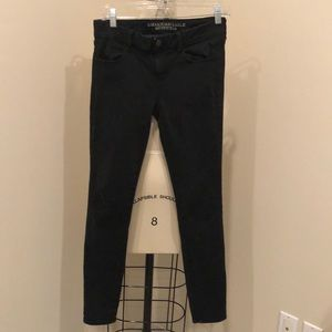 American Eagle Outfitters Black Skinny Jeggings